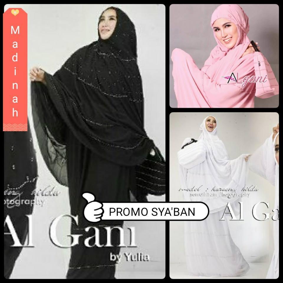 Premium Quality Mukena MADINAH AL GANI ORIGINAL by Yulia Terbaik!