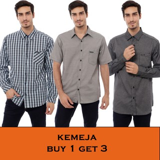 Cottonology Kemeja Buy 1 Get 3