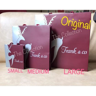 Medium Frank N Co Paper Bag Original Tas Karton Perhiasan Diamond