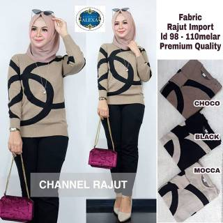 Chanel rajut by alexa