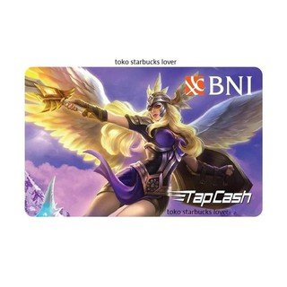 SLD679 Kartu Emoney Etoll Tap Cash Tapcash BNI Saldo 0 Mobile Legend Freya