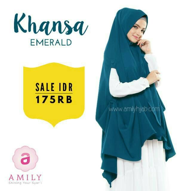 Khimar Khansa emerald