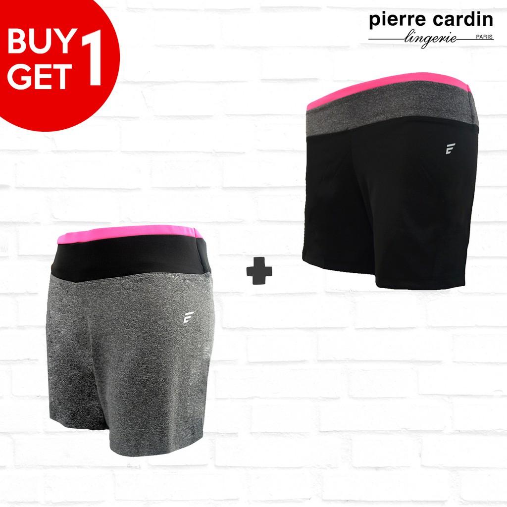 (Promo BUY 1 GET 1) Pierre Cardin Energized Flexibility Short 501-100003 Black & Grey