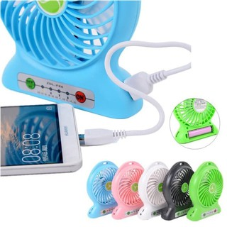 Kipas angin Portable /power bank/Senter/ KIPAS MINI FAN USB/ KIPAS CHARGE/ ZOOMSTAR_SHOP