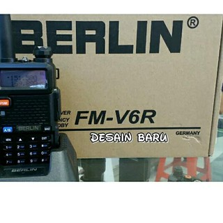 dsf» pqd-034 Radio HT Berlin FM V6R Dual Band+ Headset