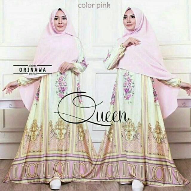 Queen Pink maxi