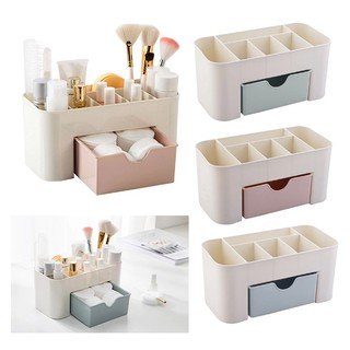 Plastic Makeup Organizer Make Up Brush Storage Rak Kosmetik Plastik Sergabuna