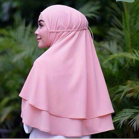 Terbaru Hijab Jilbab Khimar Tali Bergo Instan Aisha Rubiah Raniya Al-Azhar KCB