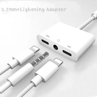 Conveter Lighting to audio adapter 3 in 1 Fungsi charger,headset