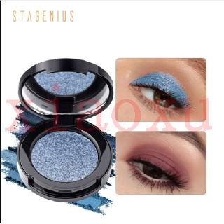 COD STAGENIUS  Palet Eyeshadow 16 Warna Metal Shimmer Tahan Lama Anti Air