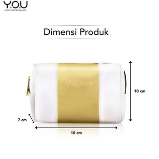 $883() YOU Exclusive Pouch White Gold 】