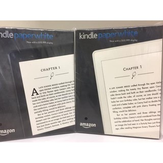 ⌑ Amazon 7th Gen Kindle Paperwhite eBook Reader 300ppi No Ads White →