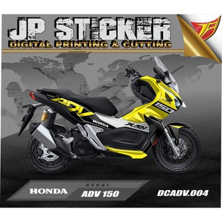 Sticker Decal atau full body ADV 150 desain 04