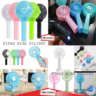 Handy Mini Fan / Kipas Angin Tangan / Kipas Portable / Kipas Genggam / Mini Hand Fan/ Kipas Senter