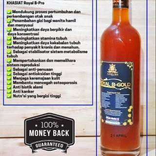 MAdu Hutan ROYAL B GOLD 100% Asli 350ml / Madu Kesuburan