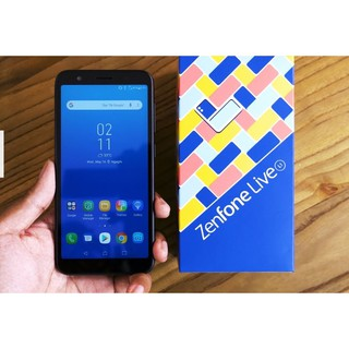 ASUS ZENFONE RAM 2GB 16GB LIVE L1 ZA550KL 13MP CAMERA FULL VIEW DISPLAY 5,5 INCH GARANSI RESMI