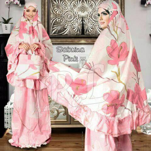 PROMO 168-3 Mukena Sabrina  Busana muslimah Mukena terbaru