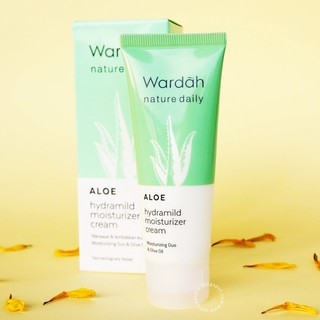 WARDAH NATURE DAILY ALOE MOISTURIZER CREAM 40ML