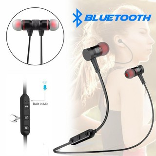 MAGNET BLUETOOTH HEADSET EARPHONE BASS MURAH