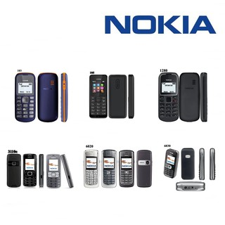 HP Nokia Handphone Jadul GSM Classic Phone Cell with Radio and Flashlight