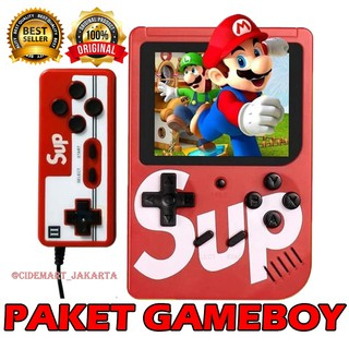 (PAKET GAMING!) GAMEBOY 400 IN 1 Game Sup Portable Handheld Video Game Console