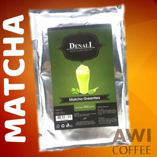DENALI MATCHA GREENTEA 800g FLAVORED POWDER | Teh Hijau Matca/ Maca Ice Blended / Macha Latte/ Macca