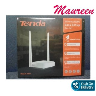 [✅COD] Tenda N301 3 in 1 Wireless ROUTER+Access Point+EXTENDER WIFI 301 AP