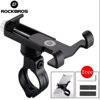 ROCKBROS Bike Phone Holder Adjustable - Pegangan Hp di Sepeda Gunung Seli Roadbike