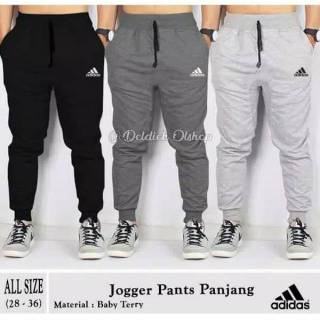 Celana Joger Sweatpants Training Adidas Bahan Premium All Size S - XL