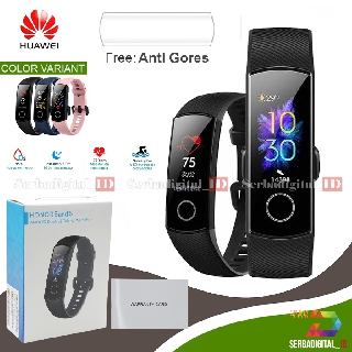 Huawei Honor Band 5 Smartband Smartwatch Blood Oxygen Heart Rate Garansi Resmi