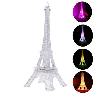 Lovely Eiffel Tower Night Light Luminaria Cute LED Art Deco Lamp Desk Bedroom Decor  lampu tumblr