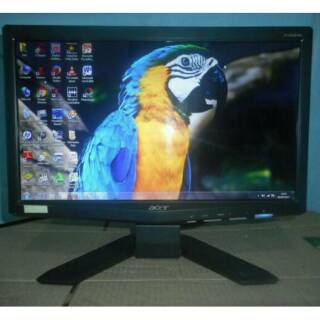 LCD Monitor Acer 16inch wide x163wl