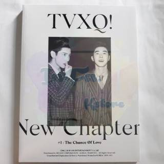 TVXQ 8th Album < New Chapter #1 : The Chance of Love >