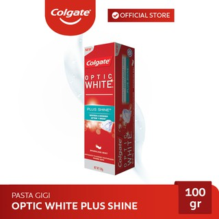 Colgate Optic White Plus Shine Whitening Toothpaste/Pasta Gigi 100 gr