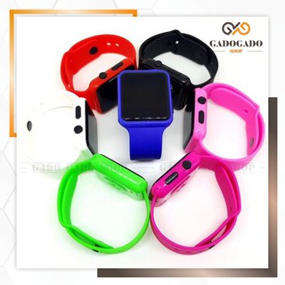 GGS JAM TANGAN DIGITAL LED DISPLAY WATCH ELEKTRONIK DIGITAL FASHION KISD&REMAJA Kode J138