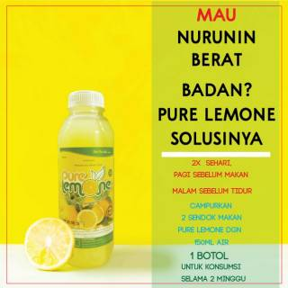 Pure Lemone 500ml / sari lemon asli / lemon murni