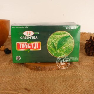 OB#019 Tong Tji Green Tea / Teh Hijau ( 25 Tea Bag / Teh Celup ) Diskon on@