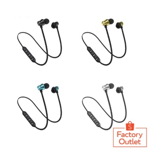 [COD Bayar Di Tempat]XT11 Earphone In-Ear Stereo Wireless Bluetooth 4.2 Magnetik /FASHION / Premium