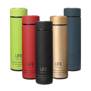 Termos LIFE ORIGINAL Tahan Panas / Vacuum Flask Termos Trendy Business 500 ML