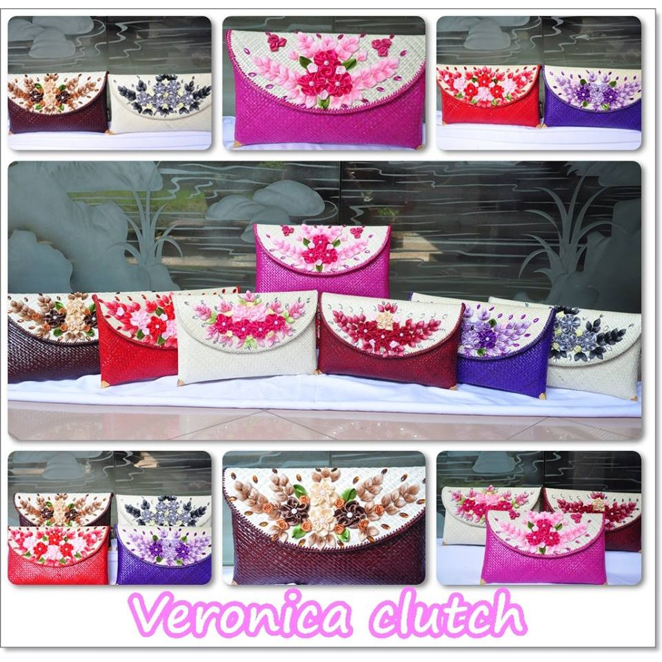 LIMITTED VERONICA HANDMADE CLUTCH telekung