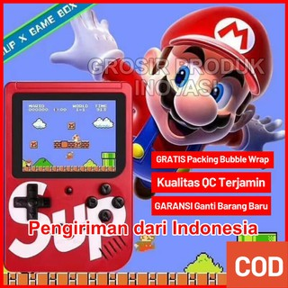 (*Bisa 2-3 hari Sampai) RETRO GAME Console Q3 400 in 1 Gamebot Konsol Games GAMEBOY