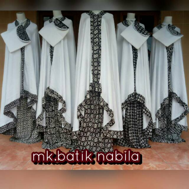 Mukena Batik Rempel