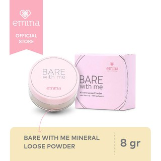 Emina Bare With Me Mineral Loose Powder 8 g