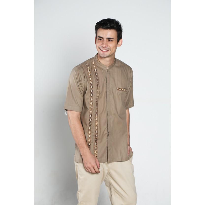 Atasan Baju koko batik, busana muslim pria kualitas premium TN 37 cokmud