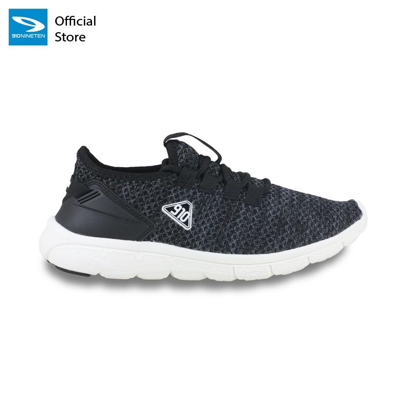 910 Nineten Amaru 1.5 Sepatu Lari Hitam/Putih