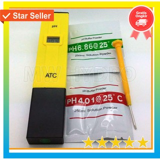 Jual Ready Stock Alat Ukur Air Hidroponik - Ph Meter Atc Pen Type Ph-009 Terbatas