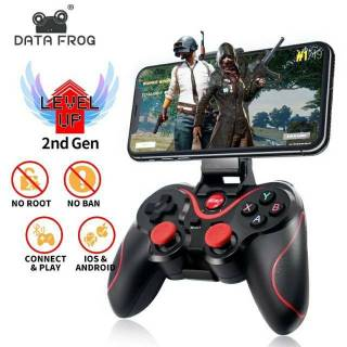 Gamepad GEN X3 Wireless Controller Stick for Android iPhone PC with Holder