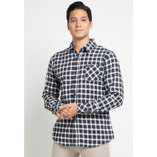 Cottonology Twill Black White Shirt