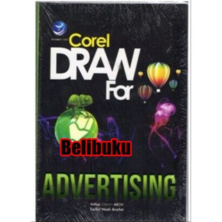 Dijual Buku Corel Draw For Advertising Murah