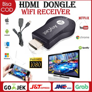 Dongle HDMI Anycast Chromecast HD Wireless Wifi Ezcast TV- HDMI Wifi Display Receiver